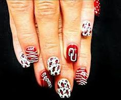 Ou nails turn in to alabama nails