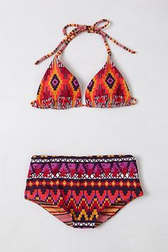 Saha Swim Yuma Bikini  #anthropologie