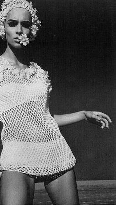 photo Helmut Newton for UK Vogue, 1965                              …