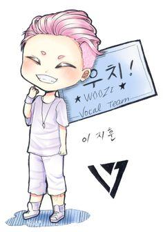 Woozi Fan Art