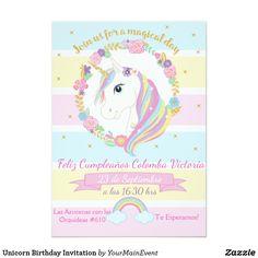Unicorn Party Baby Shower Birthday Parties 7th Celebration