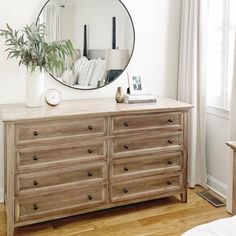 Cool Stylish Bedroom Dressers Ideas With Mirrors That You Need To Try Home Bedroom, Bedroom Decor, Master Bedroom, Bedroom Ideas, Master Suite, Bedroom Boys, Bedroom Wardrobe, Brighten Room, Bedroom Dressers