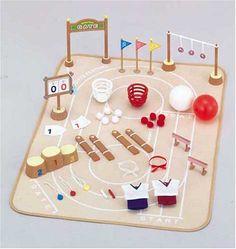 Amazon.co.jp   シルバニアファミリー 学校・ようちえんシリーズ 森の運動会セット S-36   おもちゃ 通販