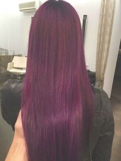 Top Rated Red Hair Color Models ~ new girl hairstyles - Part 20 Burgundy Red Hair, Plum Hair, Hair Color Purple, Hair Dye Colors, Cool Hair Color, Red Violet Hair, Burgundy Colour, Maroon Hair, Wine Hair