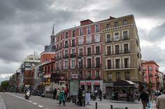 Plaza de Antón Martín Madrid España