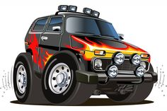 """cartoon jeep - Stock Vector ,Vector cartoon jeep - Stock Vector , Catch tha Bus by Center Caps Chrome 5 Lug Pair """"Tyrion Lannister Illustrated Pin Up"""" by BitGem Car Vector, Vector Stock, Jeep, Train Illustration, Truck Detailing, Dodge Charger Daytona, Silhouette Clip Art, Car Painting, Retro Cars"""