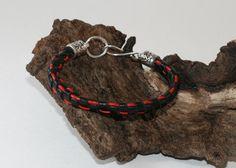 Leather Basket Woven Bracelet by DESIGNBYSTARLA on Etsy, $25.00