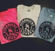 """""""Got a lot of Starbucks lovers, they'll tell you I'm insane..."""" I need this shirt."""