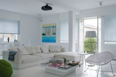 Shades of White Apartment by Mood Works