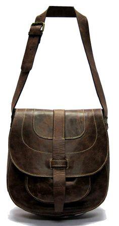 Patricia Nash Italian Leather - Barcellona Bonanza Cow in Brown $198