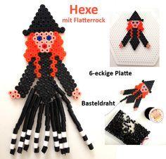 Halloween Witch - Perler Beads