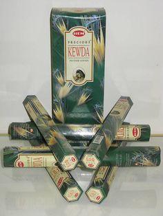 Hem Precious Kewda Incense Sticks 120 CT Export Quality NIB #Hem