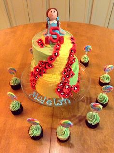 Cute ideas for Wizard of Oz party food...