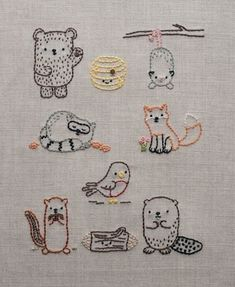 Embroidery Patterns Iron On Embroidery Designs Dresses 2018 Embroidery Designs, Simple Embroidery, Hand Embroidery Stitches, Embroidery Applique, Cross Stitch Embroidery, Geometric Embroidery, Machine Embroidery, Knitting Stitches, Diy Clothes Embroidery