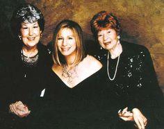 Barbra Streisand her mother and bill Clinton mom Virginia
