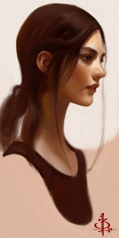 #девушка #портрет Portrait Illustrations by Bryan Lee