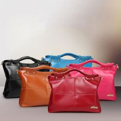 1e64f0884cef Women Vintage PU Leather Handbag Financial Business Bag Handbag is designer