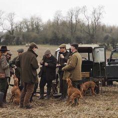 Le Chameau hunting