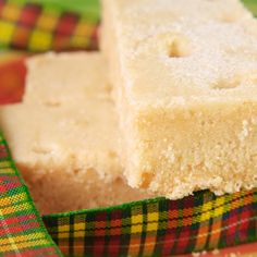 This shortbread recipe consists of 3 basic ingredients and butter is the key.
