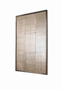 Oversized Milan mirror with bronze edge at Century Furniture, ADAC, Atlanta  (2100) 48-64