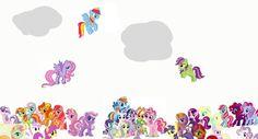 Mlp pony background!