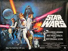 Star Wars: Episode IV – A New Hope 1977 Original Movie Poster Action