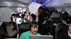 To Tweet From 30,000 Feet: Picking Planes Wired for Wi-Fi