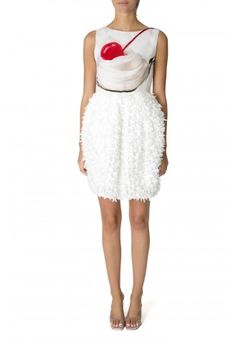 Jeff Koons Loopy Dress   Lisa Perry Artists Collections   Lisa perry