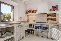 Tadelakt kitchen, by Moredesign.es
