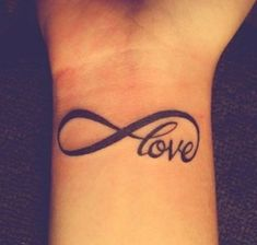 Mother Daughter Love Tattoos | Infinite Love Tattoo Tattoos