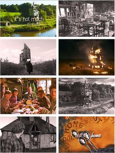 The Burrow: Hogwarts may be home, but this is the best friend's house, like the second home.