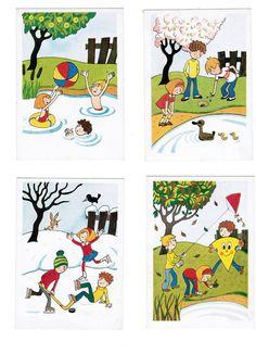 Kindergarten Activities, Preschool, Writing Folders, Story Sequencing, Learning Arabic, Classroom, Kids Rugs, Crafts, Seasons Of The Year