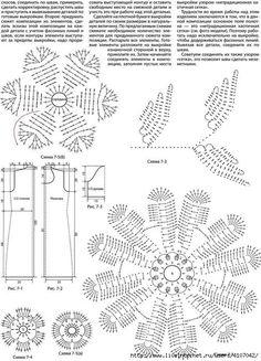 Вязание крючком. Модели, схемы, уроки   VK