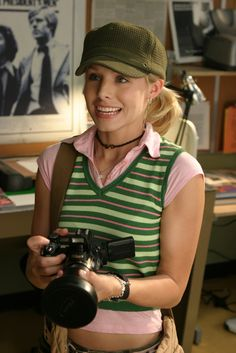 Veronica Mars (Kristen Bell) - fun fact, I used to own the exact same shirt!
