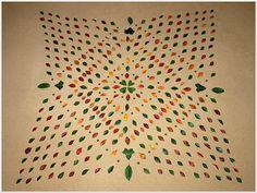 mandala végétal sur sable Land Art, Michel, Mandala, Home Decor, Artist, Decoration Home, Room Decor, Home Interior Design, Mandalas