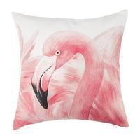 Pink Flamingo Cushions | Einhorn Homewares Faux Fur Bean Bag, Motif Tropical, Knot Cushion, Bean Bag Covers, Pink Swim, Downy, Pink Flamingos, Cushion Covers, Cushions