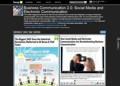 Business Communication 2.0: Social Media and Electronic Communication Online Magazine