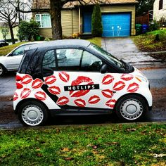 """Kiss me, smartcar!"" - instagram picture by @daryldorko #smart451 #kiss #lips #romantic #cute #picoftheday #smartonthego"
