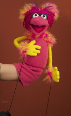 A tumblr for a puppteer with a great fraggle like puppet