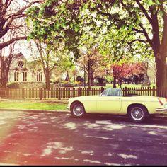 Stunning car, stunning backdrop (Wanstead, East London)