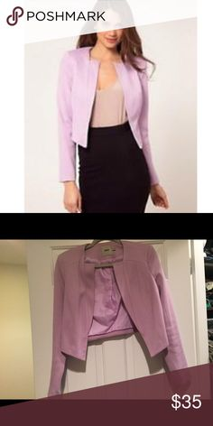 ASOS Ponti Blazer With Notch Lapel Size 6 Only worn a few times, perfect condition! ASOS Jackets & Coats Blazers