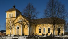 Eurajoki Church was completed in 1803 in the neoclassical style. It was restored in the end of the 19th century and in the beginning of the 20th century. The church is also known as the Church of Gustaf II Adolf. Finland