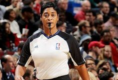 Did you see Violet Renice Palmer tonight on the 2014 NBA All Star Game? She has been officiating men's basketball games for 17 seasons! She is an American basketball referee in the NBA and WNBA and the first female official to reach the highest competitive tier in a major U.S. professional sport. She also earned recognition as a member of two NCAA Division II women's championship basketball teams. Palmer was the first woman to officiate an NBA playoff game when she did so in the April 25…