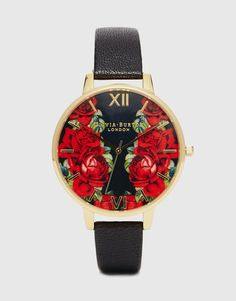 Image 1 of Olivia Burton English Rose Large Dial Watch