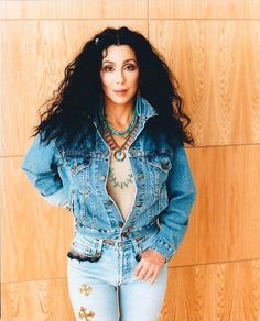 Cher claims she is Cherokee.so why is she always representing a Navajo-ish thing? Mon Cheri, Cher News, Divas, The Cher Show, Cher Photos, Cher Bono, The Jacksons, Glamour, Vogue Magazine