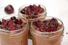 Chocolate Chia Pudding. 5 ingredientes, 5 minutos