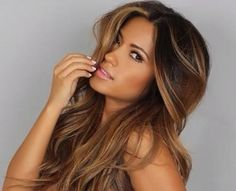 highlights for dark hair - Google Search