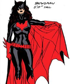 """""""Batwoman is to make a comeback as a """"lipstick lesbian,"""" according to reports. The heroine, real name Kathy Kane, will appear in 52, a cartoon series published by DC Comics. A spokesman for DC Comics confirmed to the BBC that the character will be a rich socialite who has a romantic history with ex police detective Renee Montoya, in a Superman, and Batman free world. The graphic novel, to be published by Titan books in 2007, aims to reflect modern society more accurate than previous comics."""""""