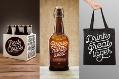 Local Brewery, font by Cultivated Mind. Local Brewery can be purchased as a desktop and a web font. Graphic Design Tools, Type Design, Great Fonts, New Fonts, Typography Fonts, Typography Design, Local Brewery, Font Face, Vintage Fonts