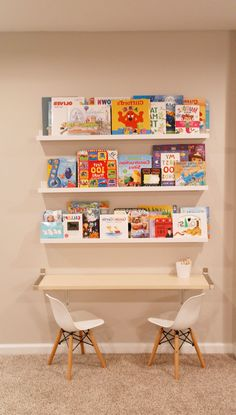 Instructions for storing toys … - Spielzeug Small Playroom, Toddler Playroom, Small Rooms, Playroom Ideas, Childrens Reading Corner, Childrens Books, Boy Girl Bedroom, Girl Room, Toy Storage